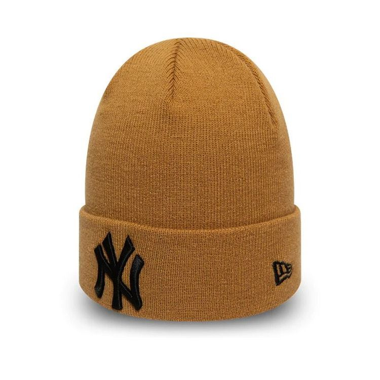 Bonnet New Era Cuff Knit New York Yankees brun 12134912