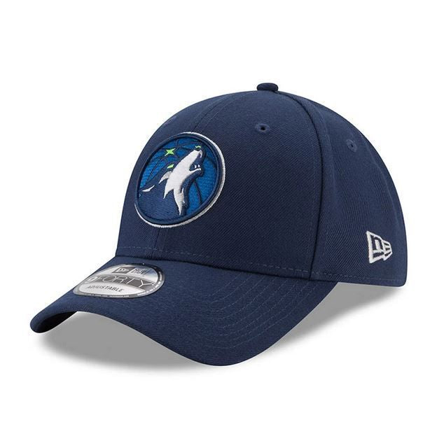 Casquette New Era 9FORTY Minnesota Timberwolves bleue marine 11486911