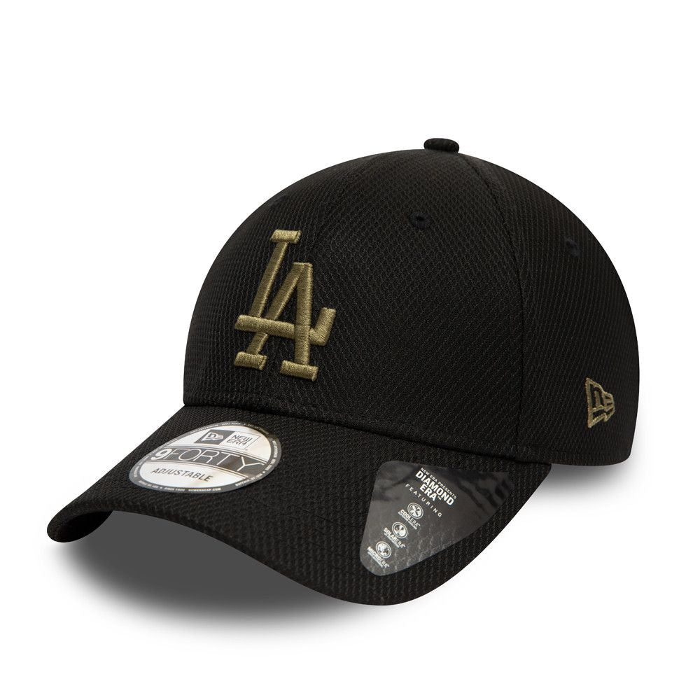 Casquette New Era 9FORTY Diamond Los Angeles Dodgers olive