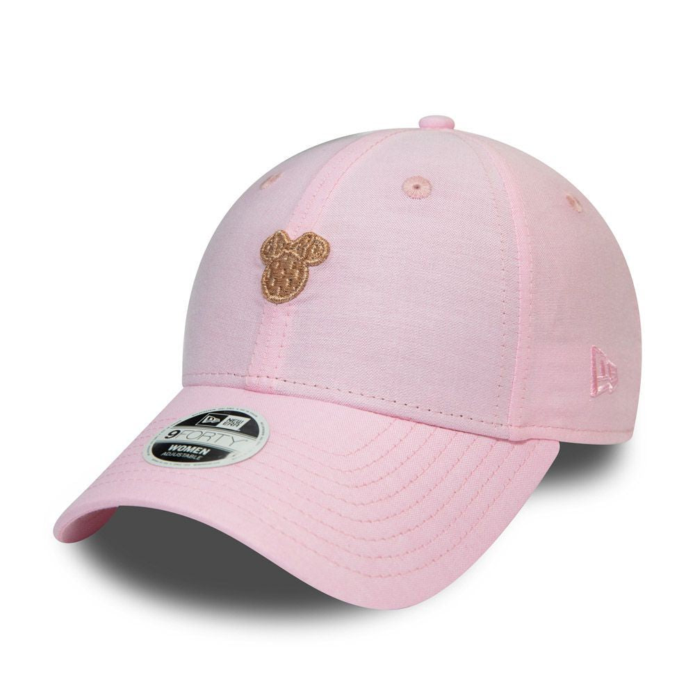 Casquette femme New Era 9FORTY Walt Disney Minnie Mouse rose 11945561