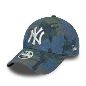 Casquette New Era 9FORTY Denim New York Yankees camouflage 12285224