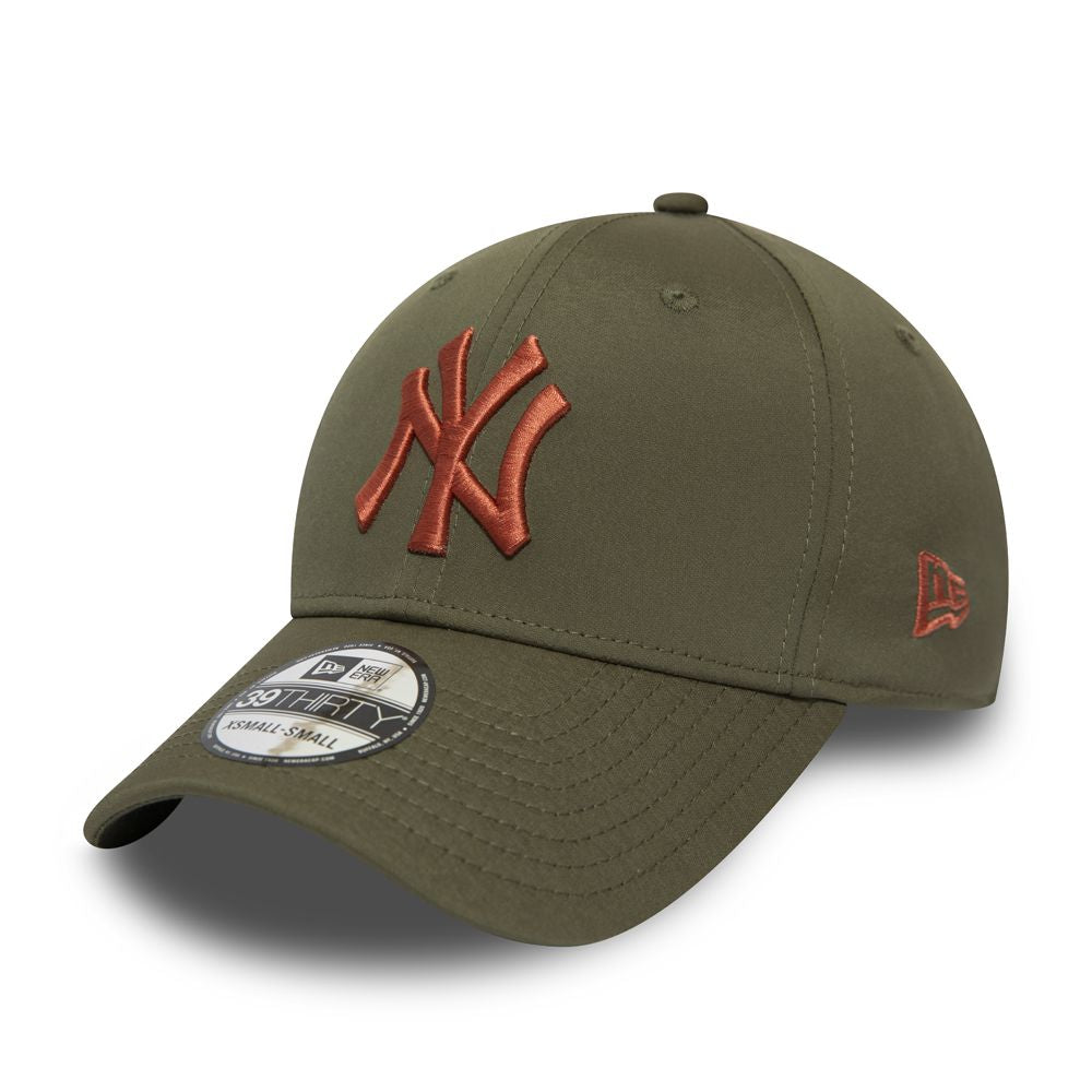 Casquette New Era 39THIRTY Stretch New York Yankees Olive 12285284