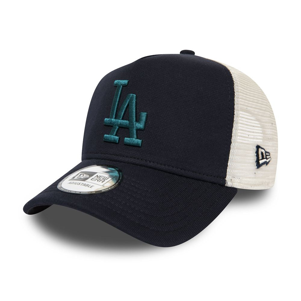 Casquette New Era TRUCKER A Frame MLB Los Angeles Dodgers bleue marine 12285347