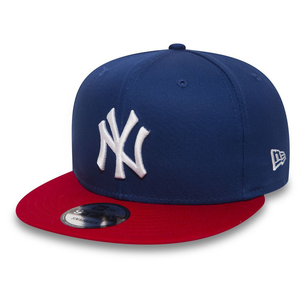 New Era - Casquette 9FIFTY New York Yankees bleue et rouge 10879531