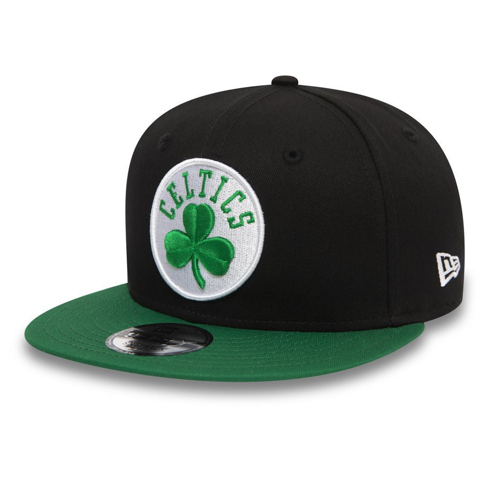 Casquette New Era 9FIFTY NBA Boston Celtics noire et verte 12122726