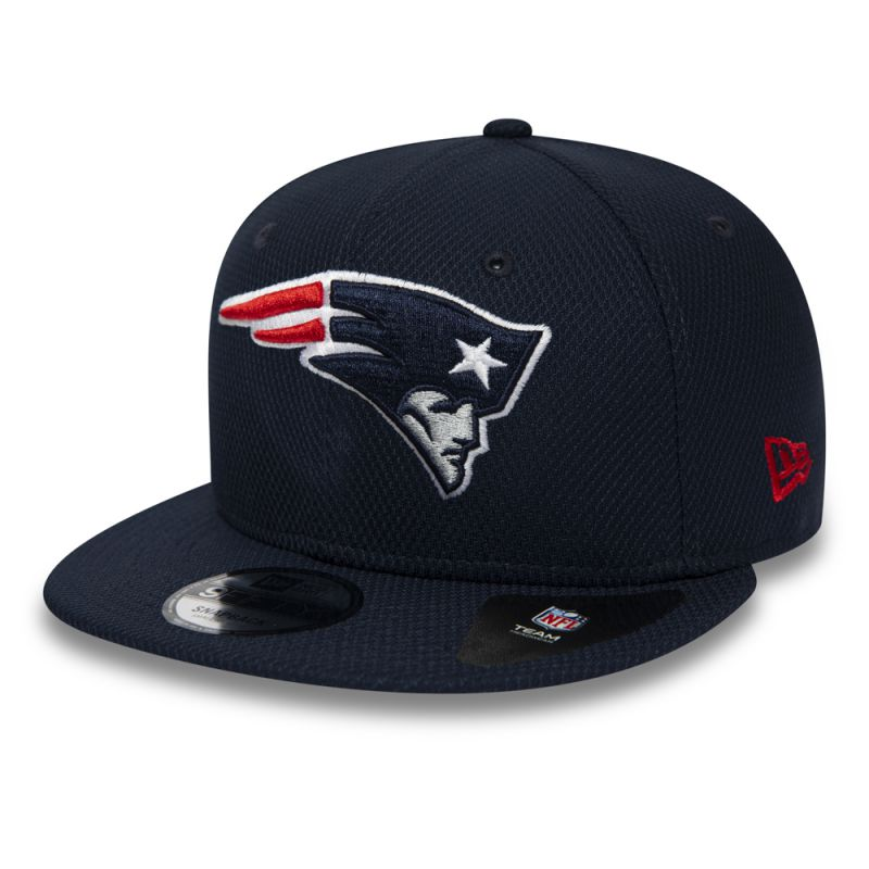 Casquette New Era 9FIFTY Diamond New England Patriots bleue 12285512
