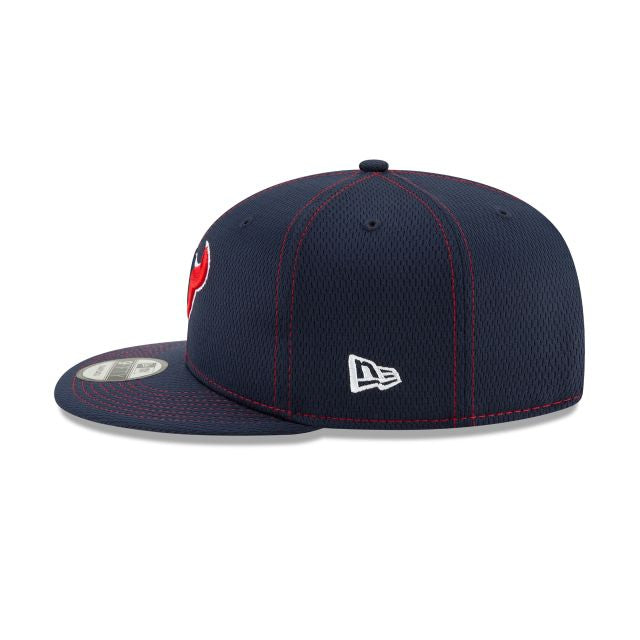 Casquette New Era 9FIFTY NFL Houston Texans bleue marine 12050615