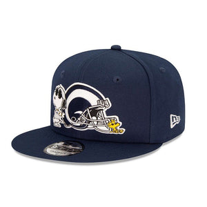 Casquette New Era 9FIFTY Los Angeles Rams X Snoopy bleue 12351595