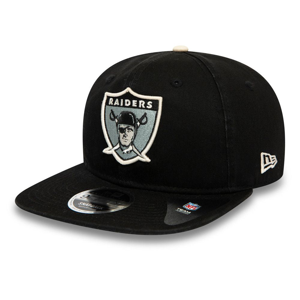 Casquette New Era 9FIFTY NFL Oakland Raiders noire 12490034