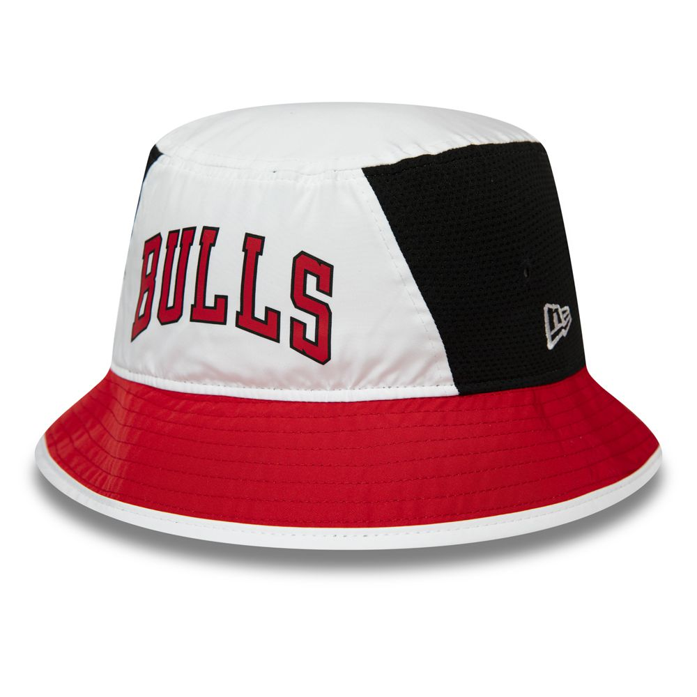 Bob New Era Chicago NBA Team Bulls rouge et noir 12285323