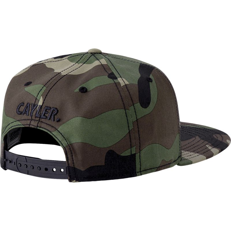 Casquette visière plate Cayler & Sons camouflage Seriously CAP CS1487