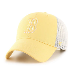 Casquette 47' Brand TRUCKER Flagship Boston Red Sox jaune FLGSH02GWP-MZ
