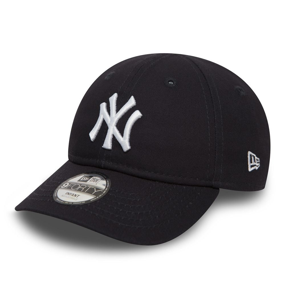 Casquette New Era Bébé Infant 9FORTY NY Yankees bleue marine 11133763