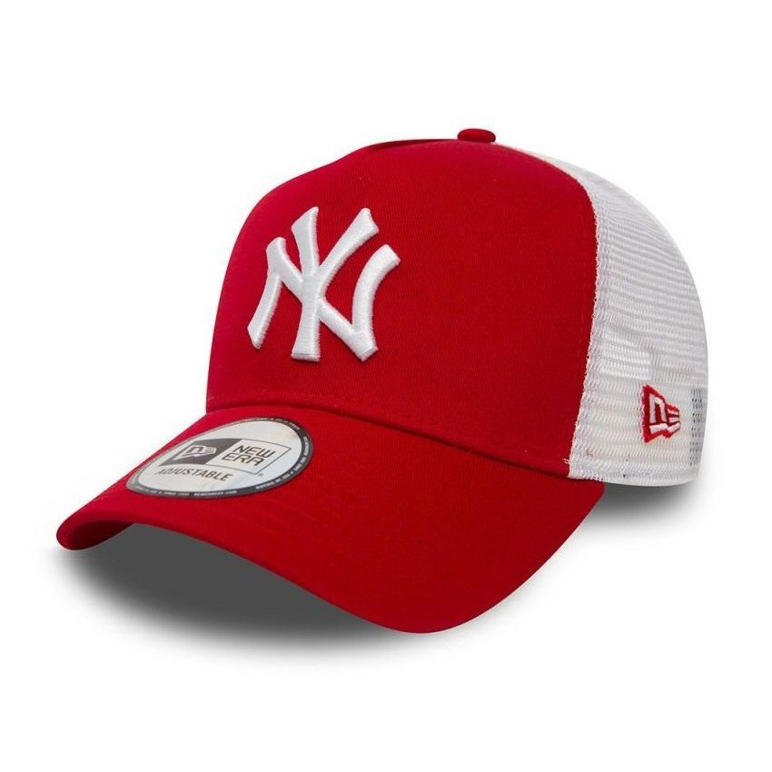Casquette New Era TRUCKER A Frame NY Yankees rouge 11588488