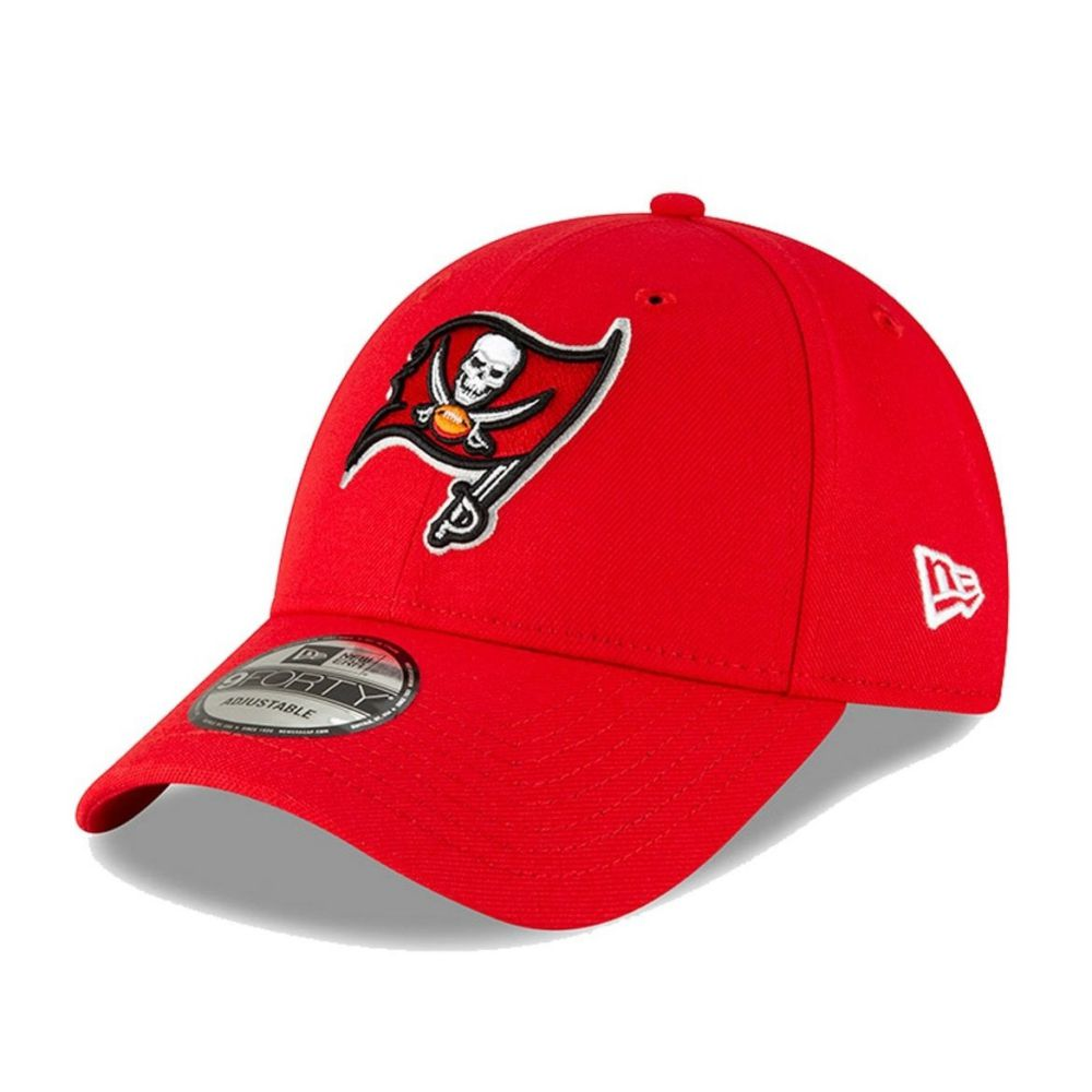 Casquette New Era 9FORTY NFL Tampa Bay Buccaneers rouge 12494445