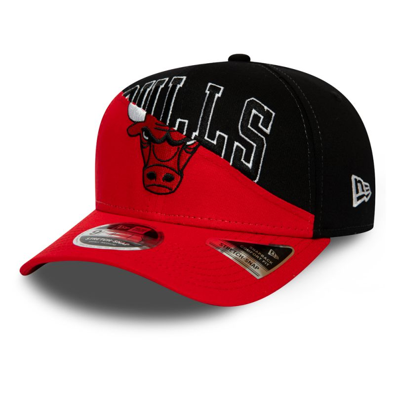 Casquette New Era incurvée 9FIFTY Stretch Snap Chicago Bulls 12134791