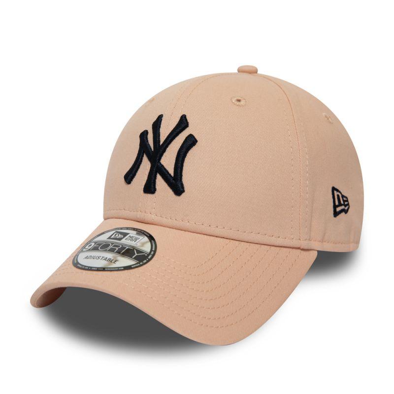 Casquette New Era 9FORTY New York Yankees rose saumon 12040434