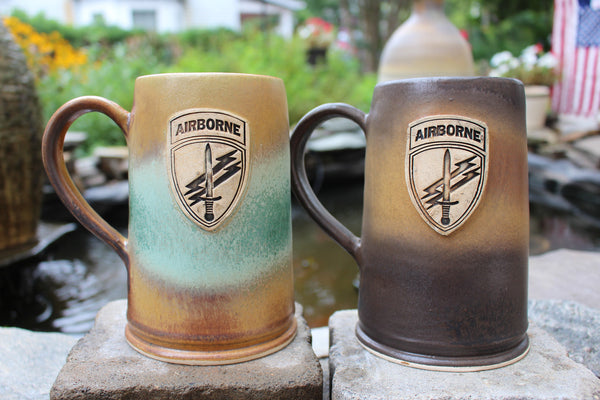 U.S. Army Civil Affairs & Psychological Operations Command (Airborne) Beer Mug