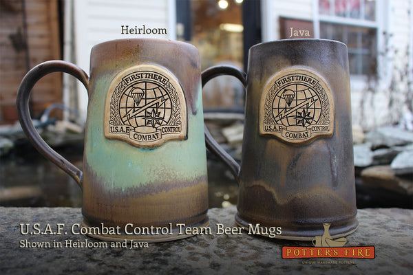 U.S.A.F. Combat Control Team Custom Beer Mugs