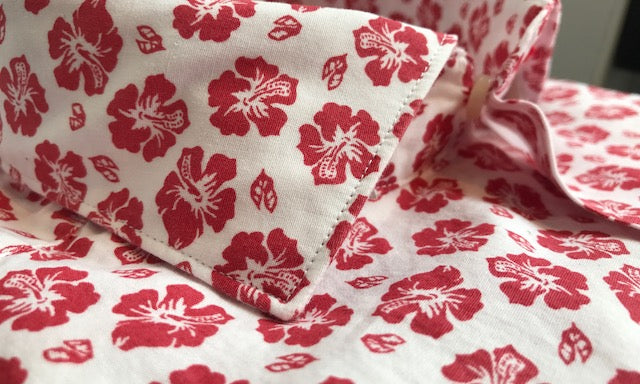 New red lotus flower cotton shirt shirts and cappuccino new red lotus flower cotton shirt mightylinksfo