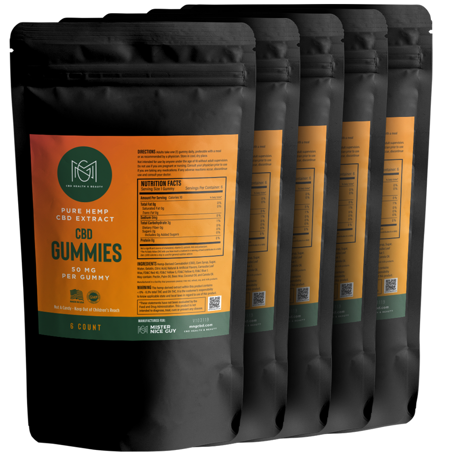 CBD Gummies Bundle (5 pack)