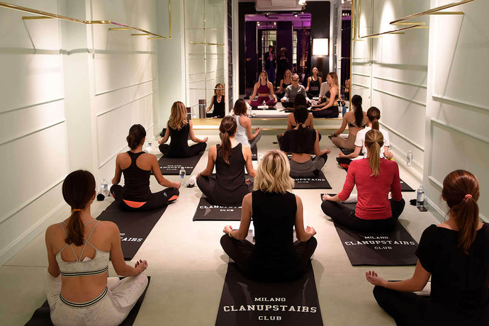 CLAN UPSTAIRS YOGA EXPERIENCE