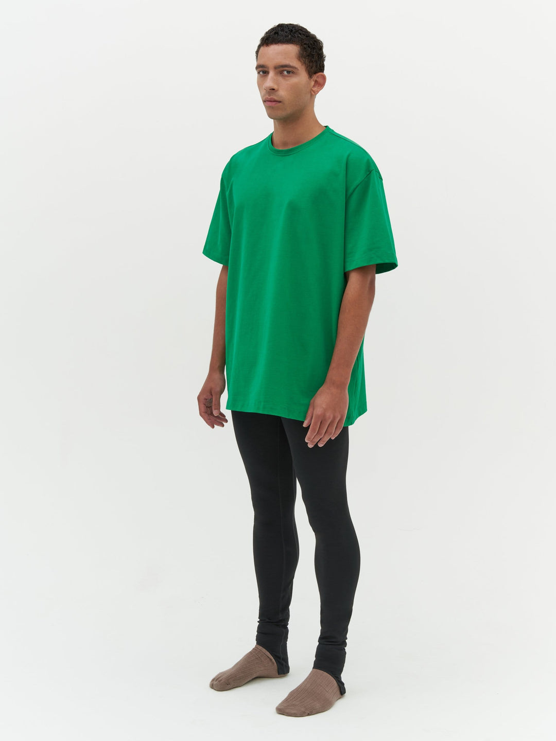 Unisex Heavy Pocket T-Shirt Green