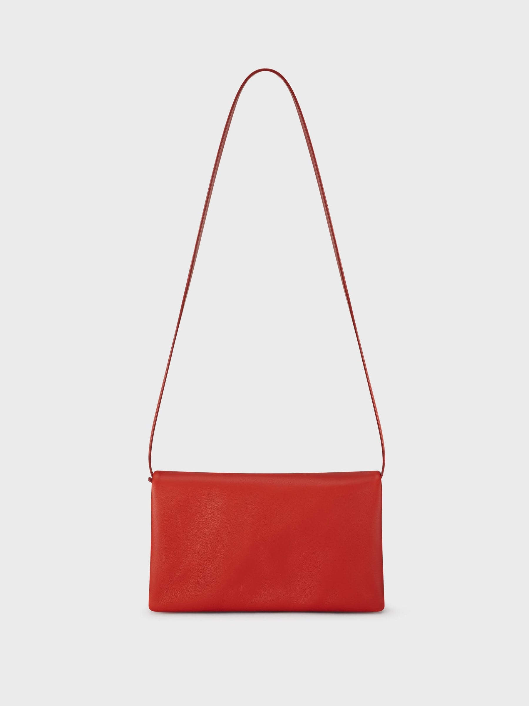 Fold Shoulder Bag Red