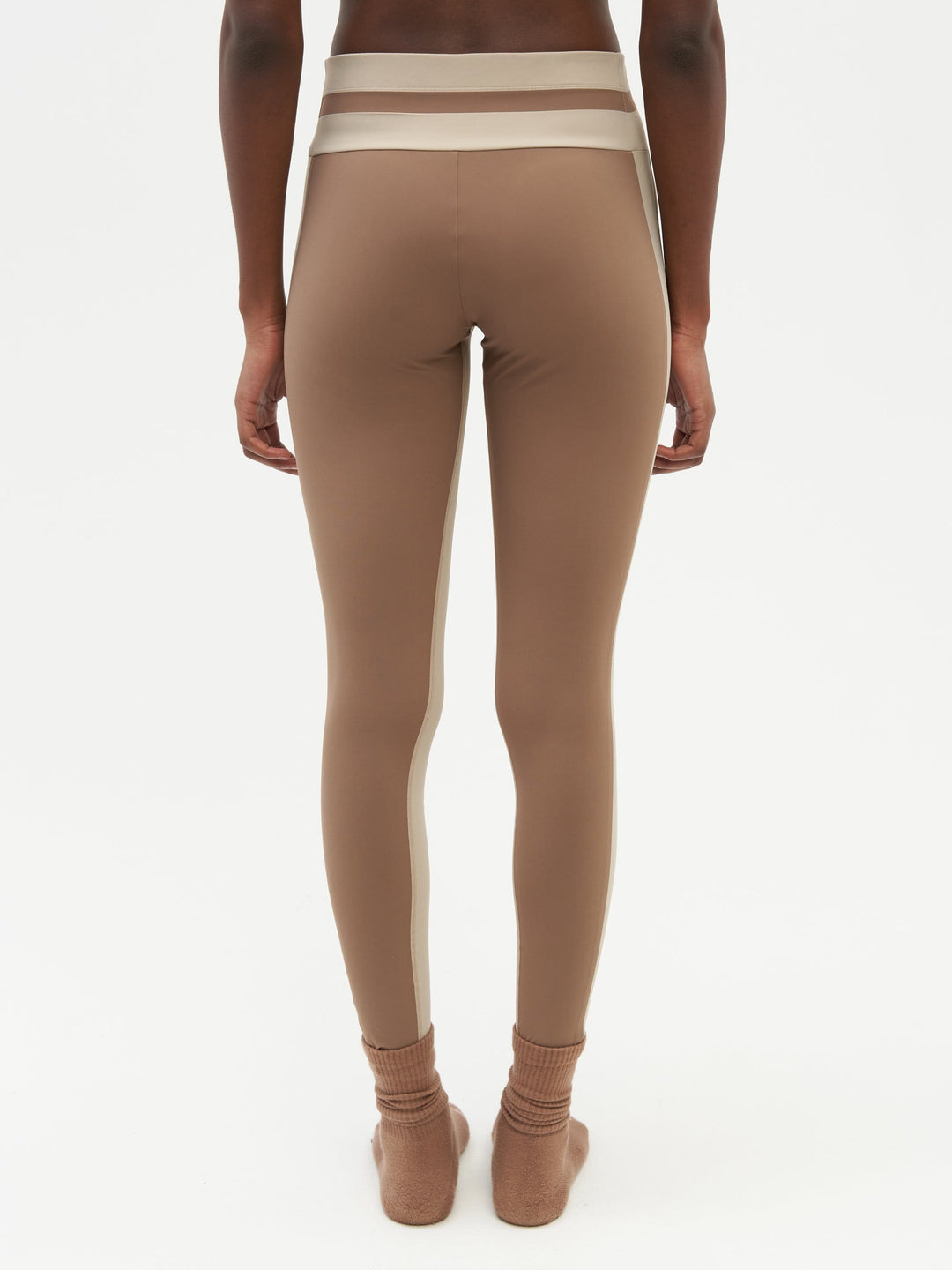 Tuxedo Sports Legging Brown