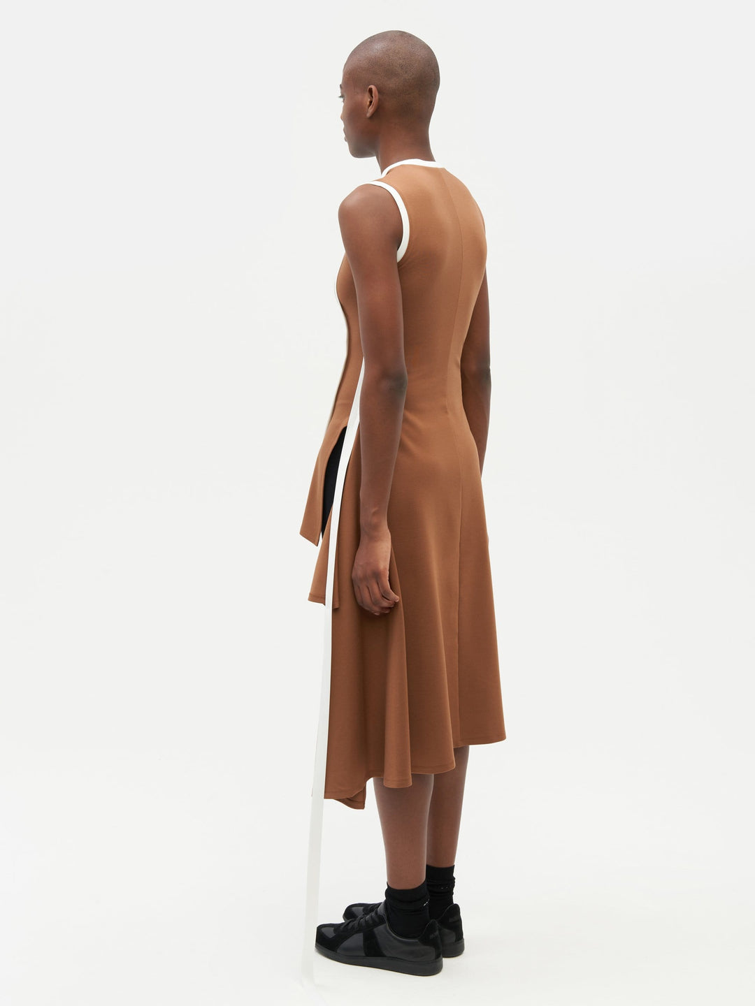 Wrap Dress Brown