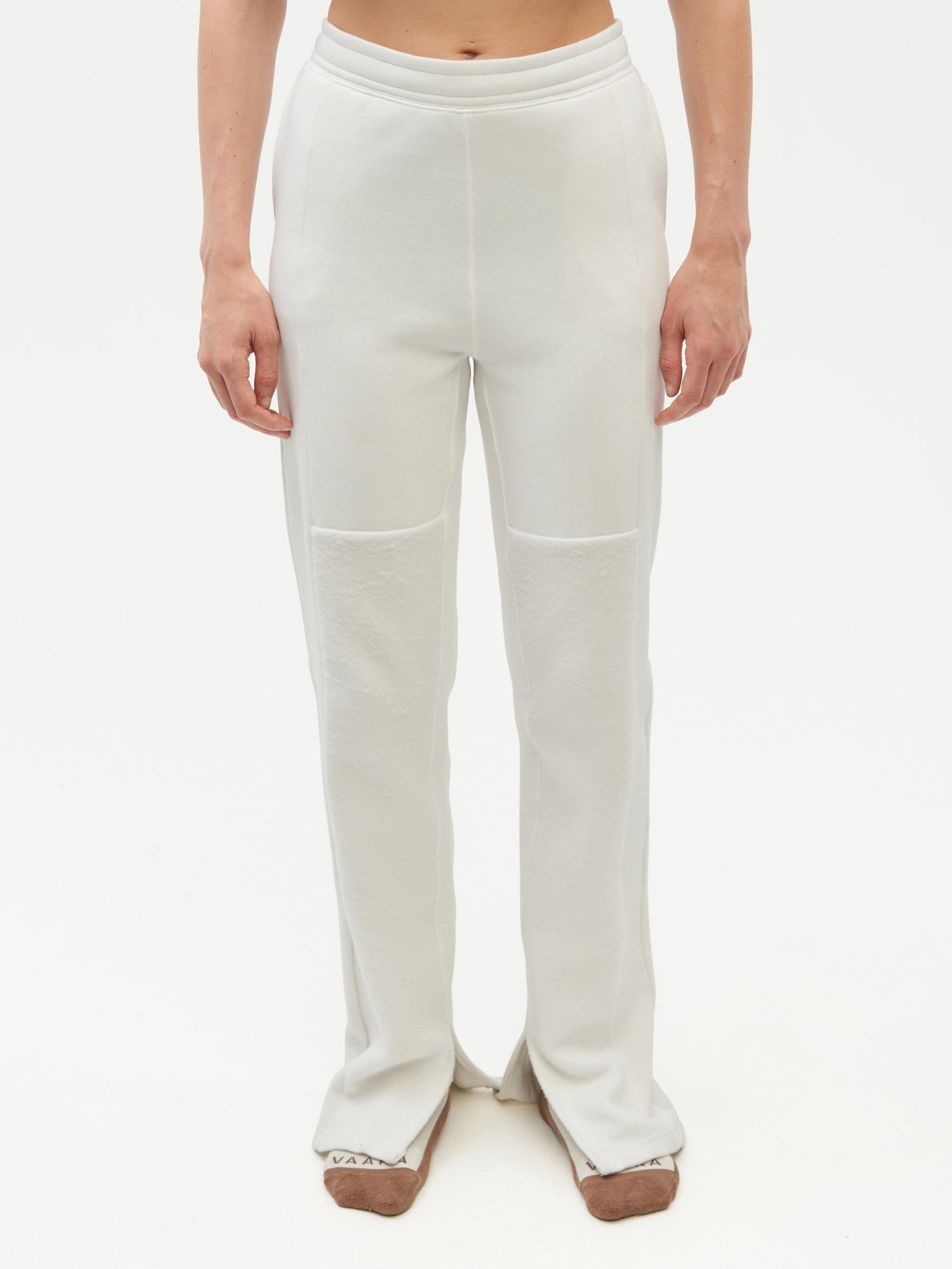 Reverse Patch Sweatpant White