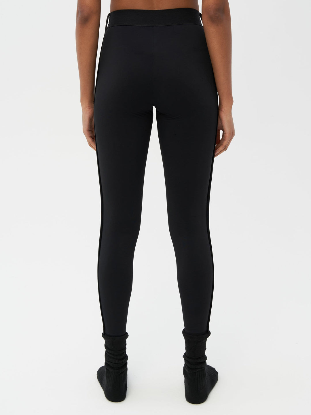 Binding Tape Legging Black