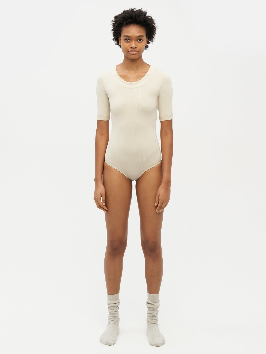 Essential Seamless Bodysuit Neutral