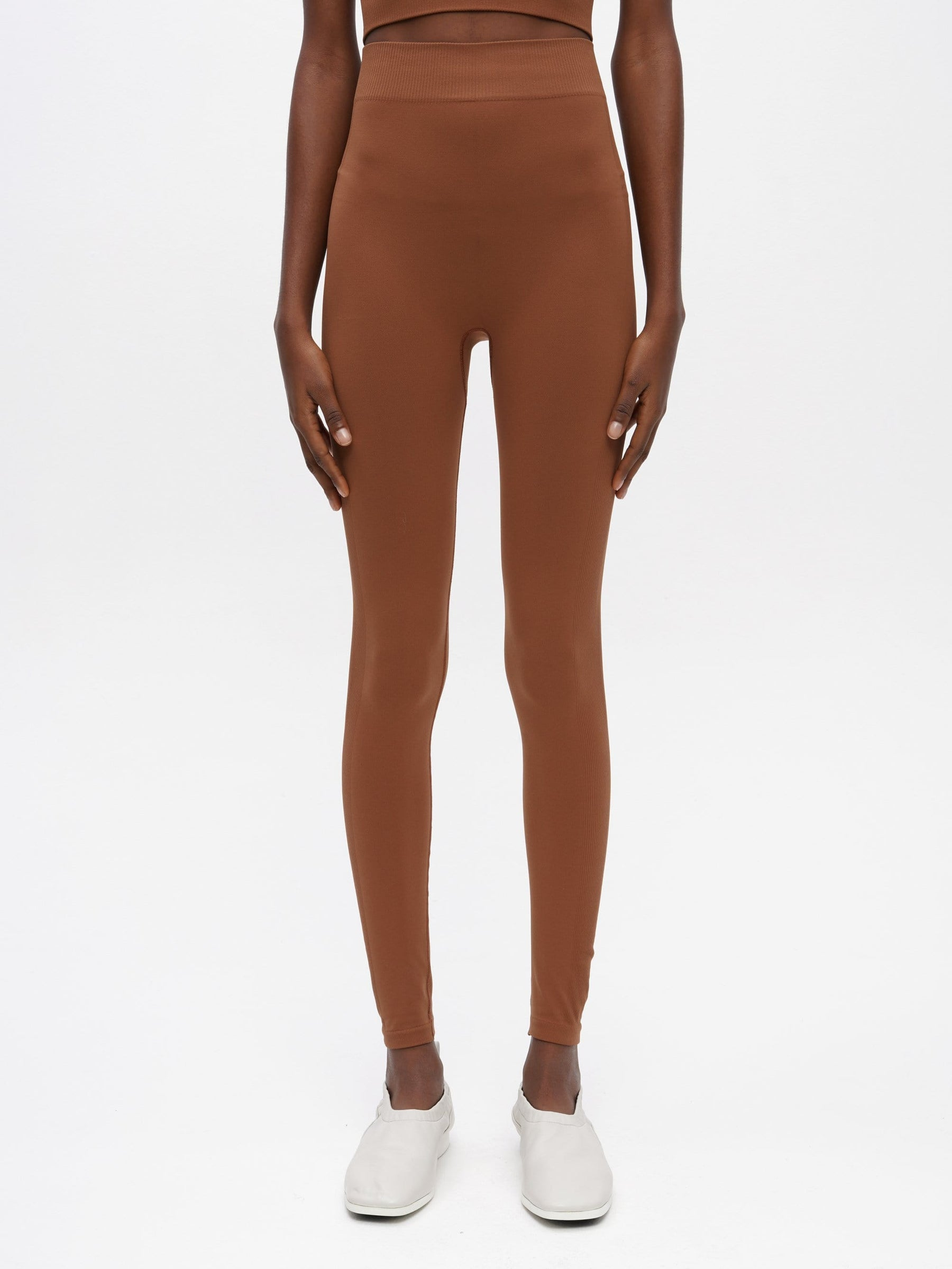 Essential Seamless Legging Brown