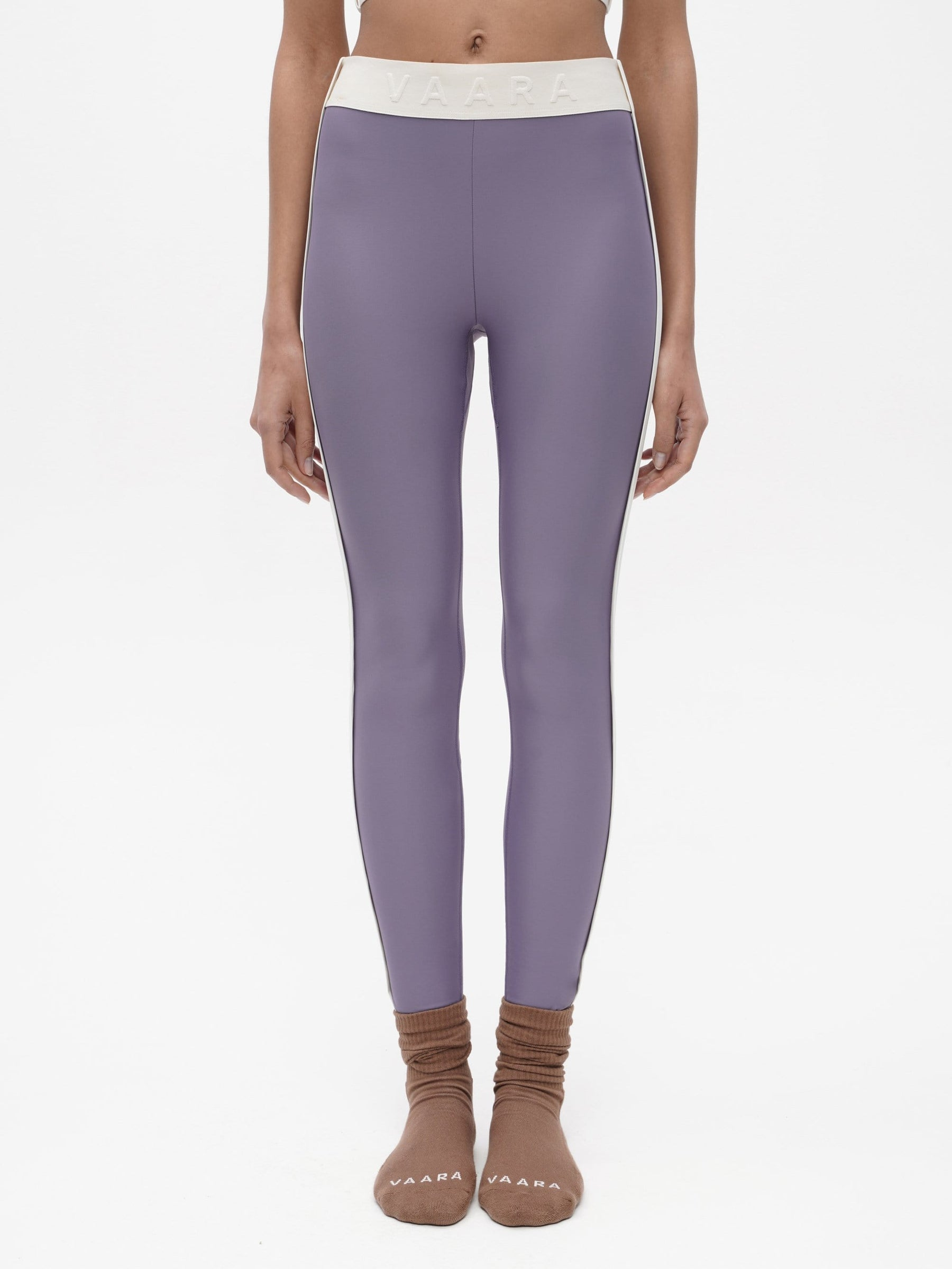 Binding Tape Legging Purple