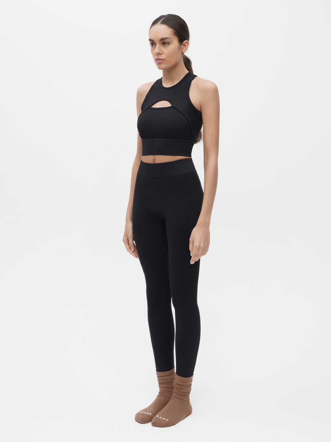 Essential Seamless Legging Black