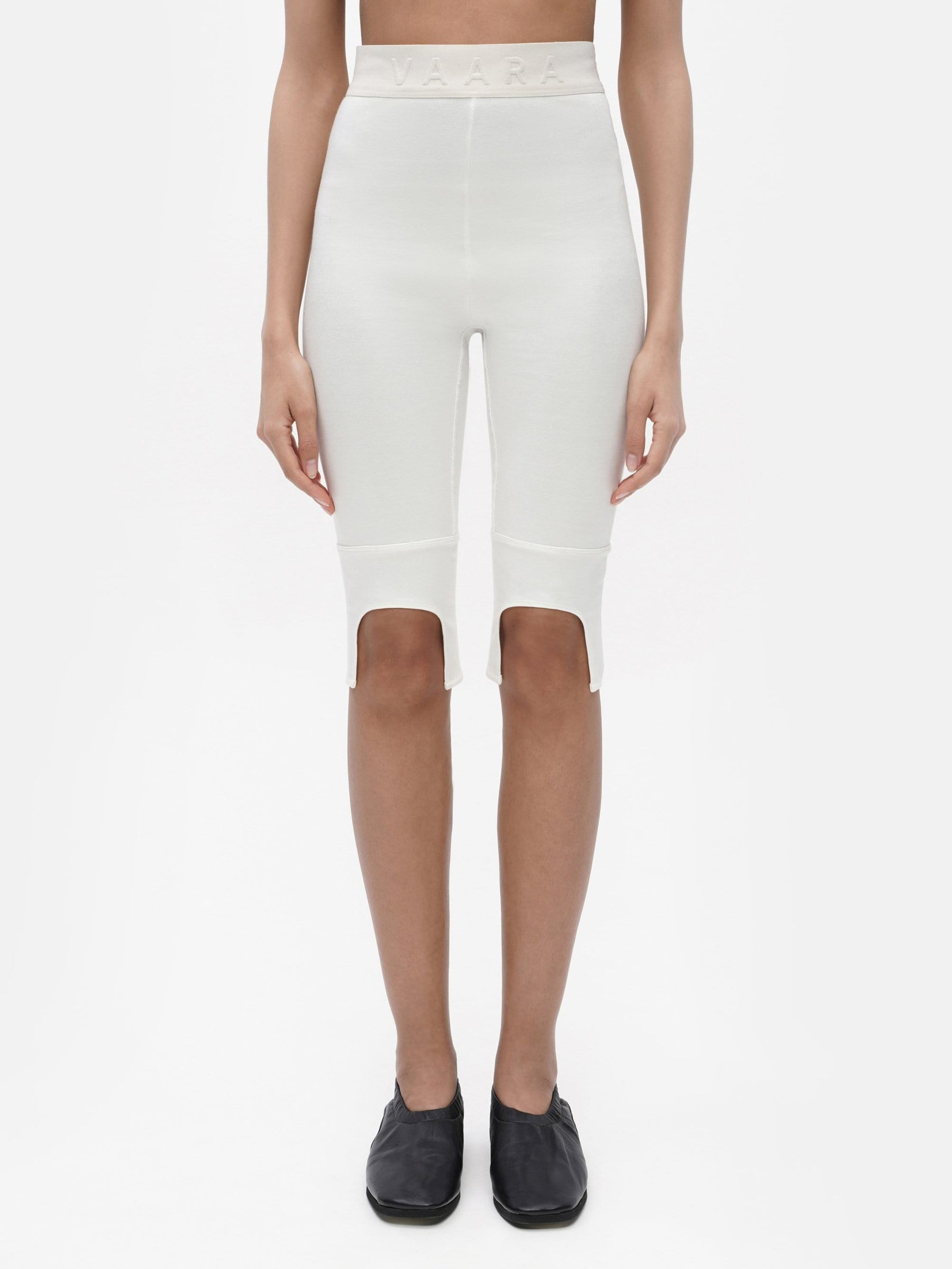 Everyday Knee Length Legging White