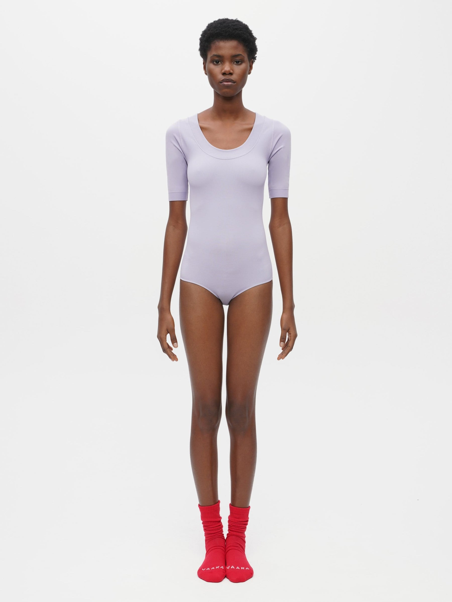 Essential Seamless Bodysuit Purple
