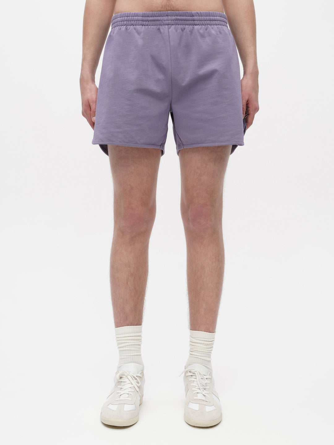 Unisex Loose Running Shorts Purple
