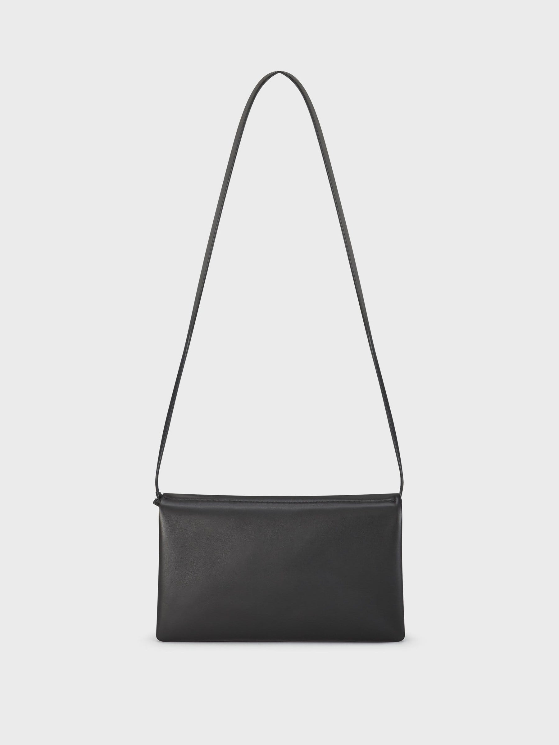 Fold Shoulder Bag Black