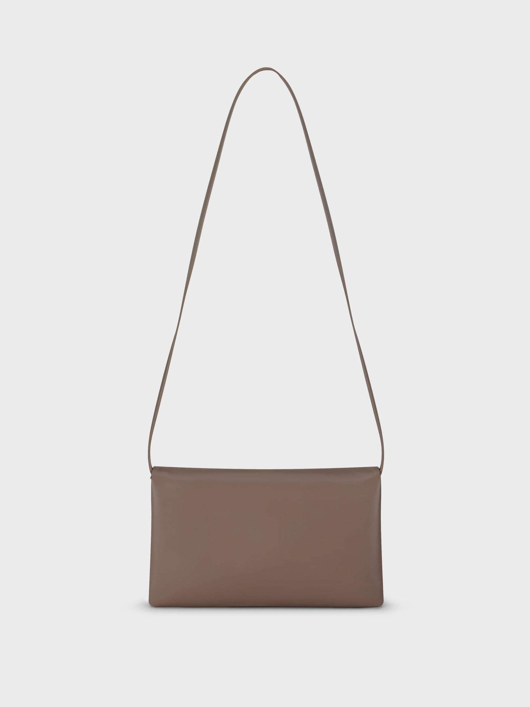 Fold Shoulder Bag Taupe