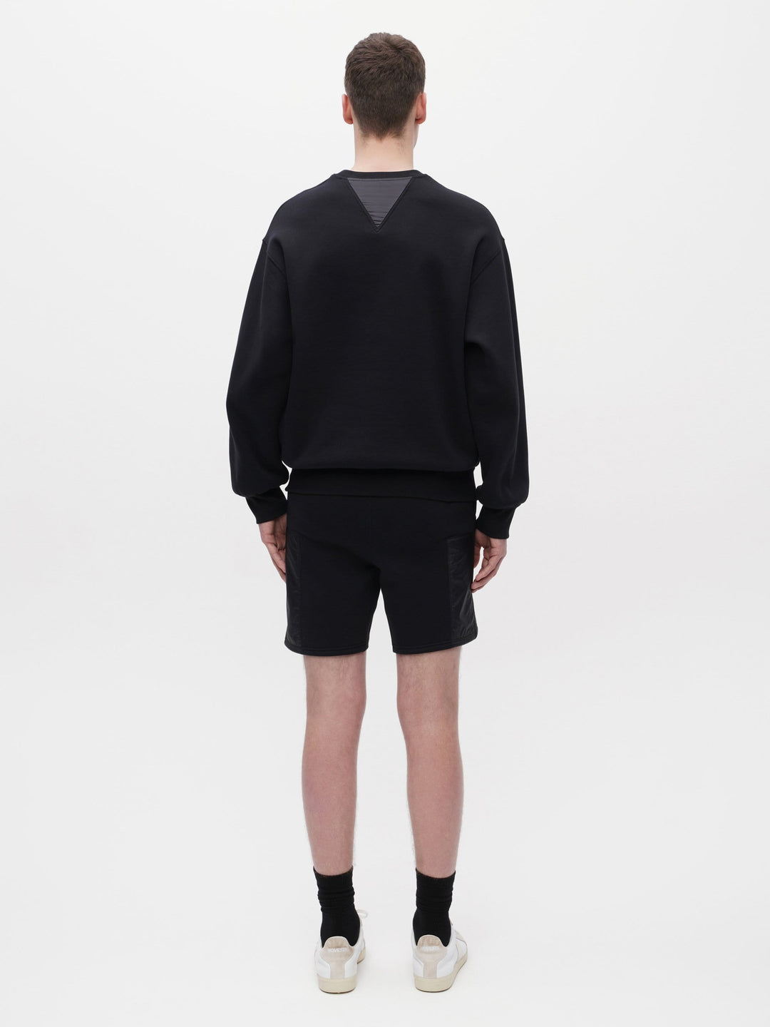 Unisex Pocket Sweatshirt Black