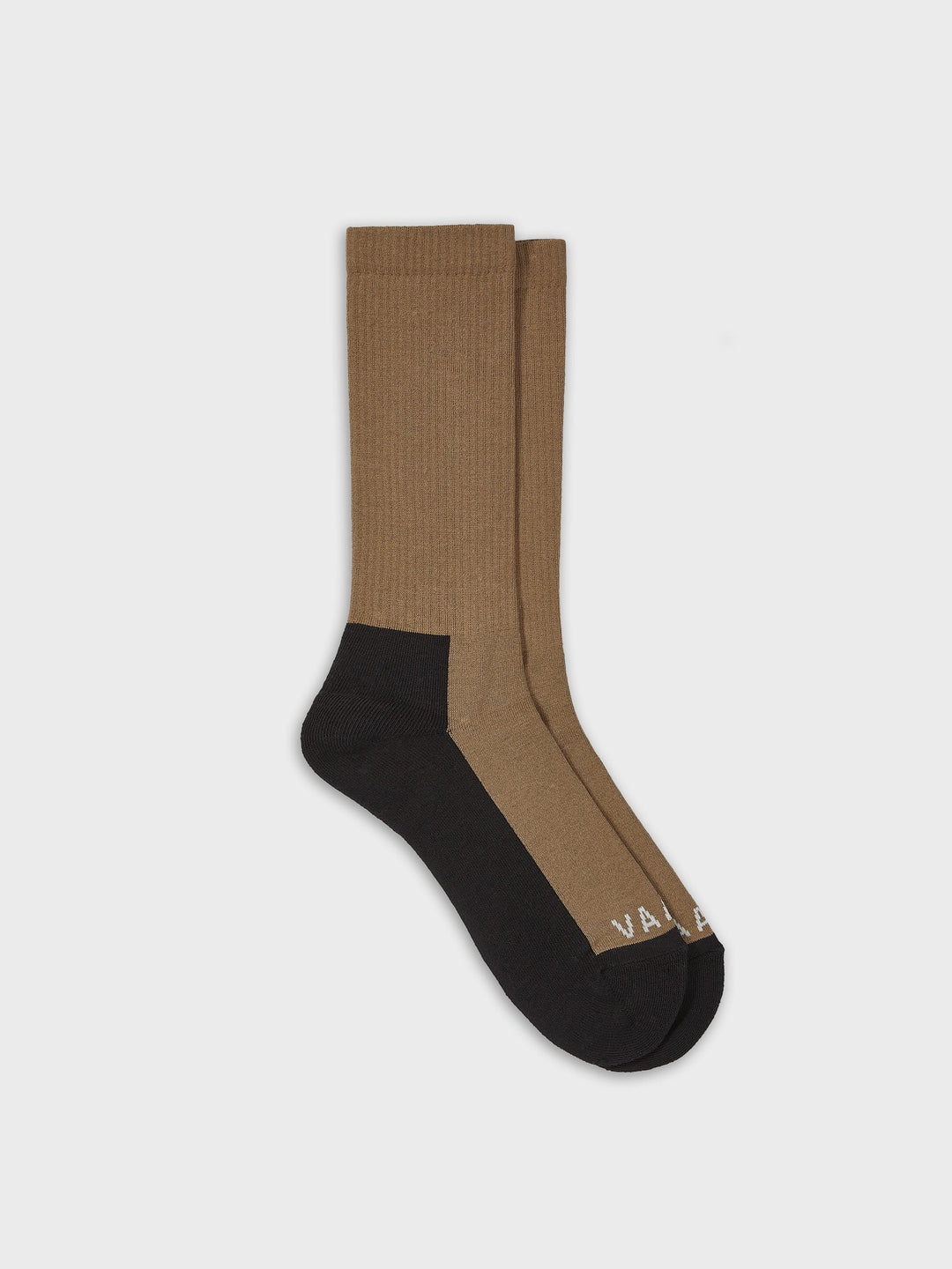 Sports Sock Bicolour Brown