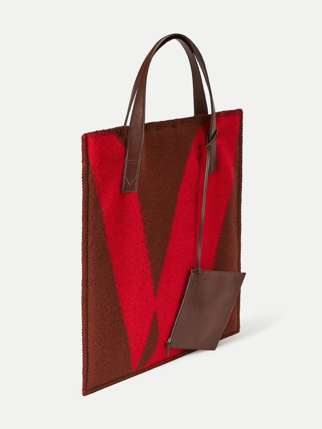Blanket Tote Red