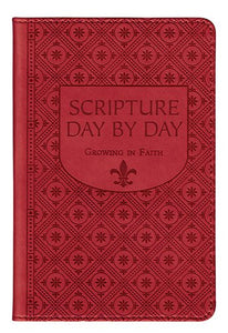 SCRIPTURE DAY BY DAY - EMBOSSED FAUX LEATHER