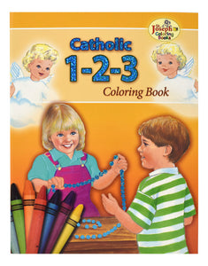 CATHOLIC 1, 2, 3 - COLORING BOOK