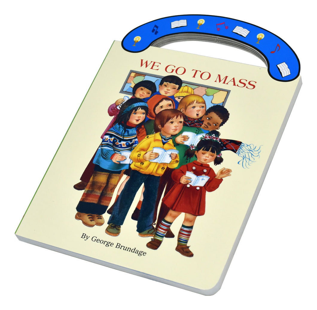 We Go to Mass - 'Carry-Me-Along' Board Book