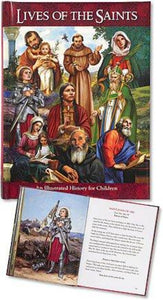CHILDREN'S ILLUSTRATED LIVES OF THE SAINTS - HARDCOVER