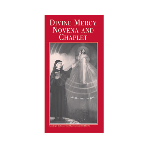 Divine Mercy Novena and Chaplet Pamphlet