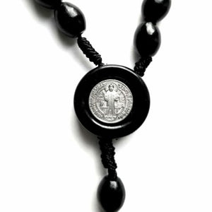 St. Benedict Rosary on Cord